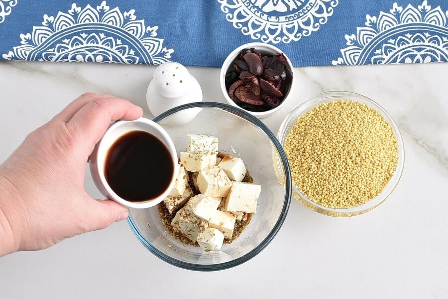 Greek Millet with Tofu Feta recipe - step 1