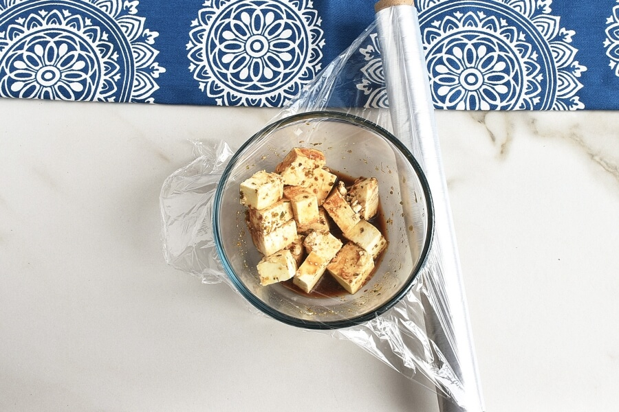 Greek Millet with Tofu Feta recipe - step 2