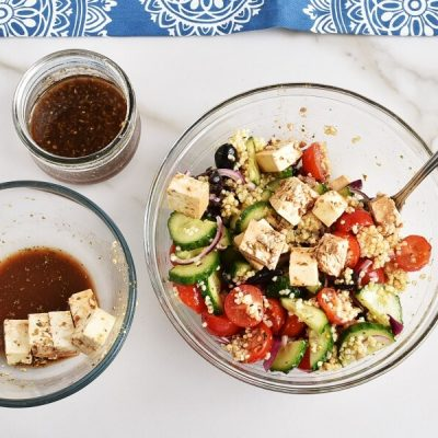 Greek Millet with Tofu Feta recipe - step 5