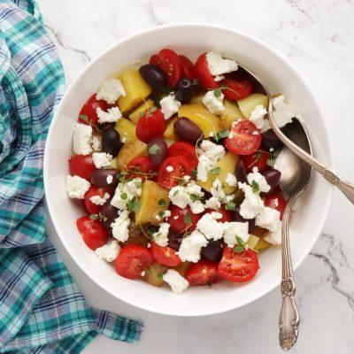Greek Potato Salad recipe - step 4