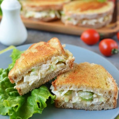 Grilled Chicken and Apple Sandwiches Recipe-How To Make Grilled Chicken and Apple Sandwiches-Homemade Grilled Chicken and Apple Sandwiches