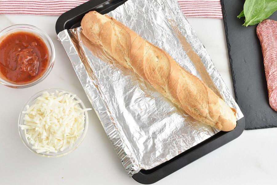 Hasselback Pizza Bread recipe - step 3