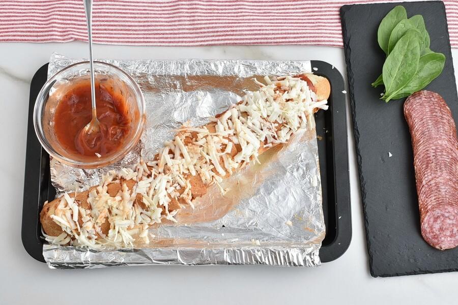 Hasselback Pizza Bread recipe - step 4