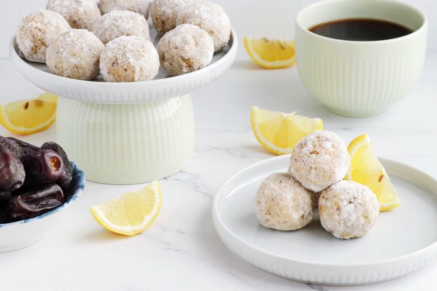 How to serve Lemon Millet Bliss Balls
