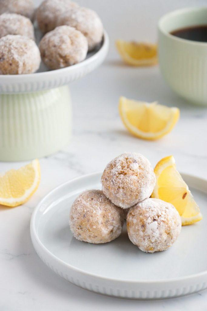 Lemon Millet Bliss Balls
