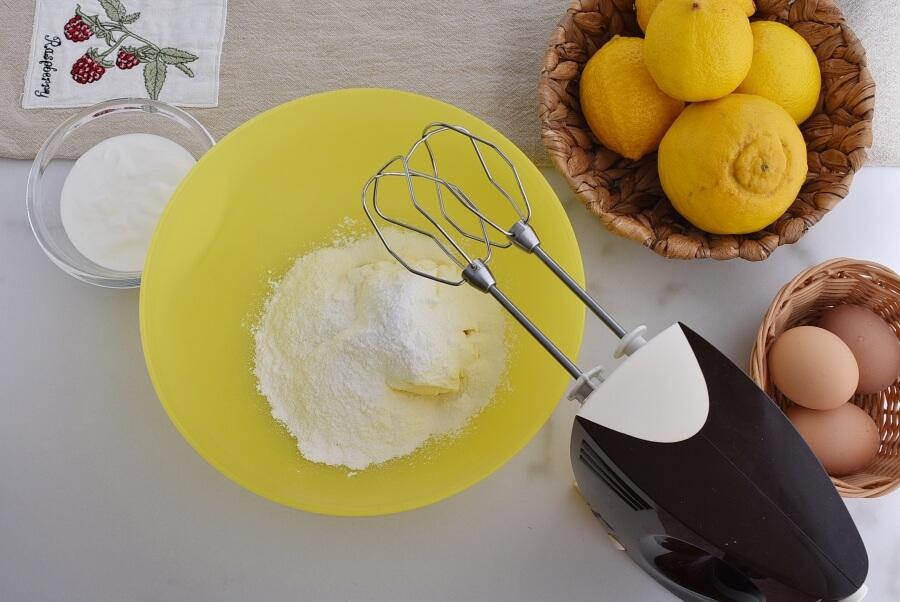 Lemon Sponge Cake recipe - step 2