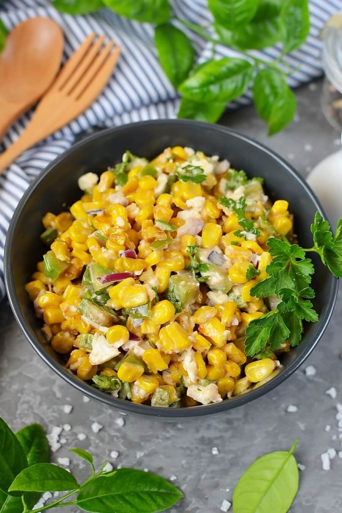 Lightened Up Mexican Corn Dip