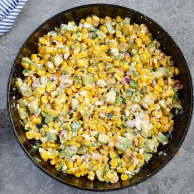 Lightened Up Mexican Corn Dip recipe - step 3