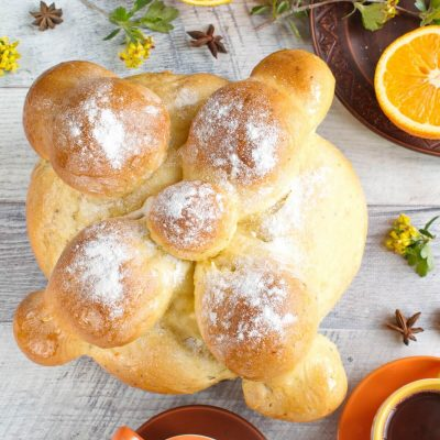 Mexican Day of the Dead Bread recipe-Pan de Muerto Recipe-How to make Mexican Day of the Dead Bread