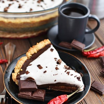 Mexican Hot Chocolate Pie Recipes–Homemade Mexican Hot Chocolate Pie–Easy Mexican Hot Chocolate Pie