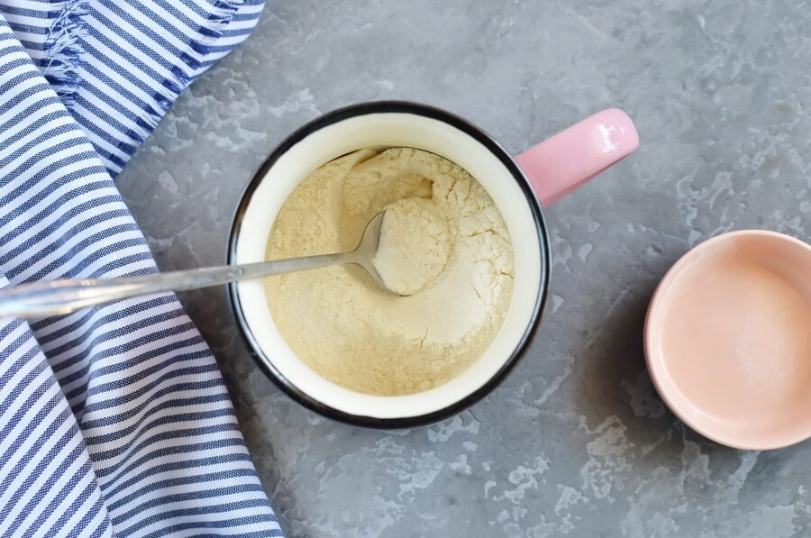 Microwave Egg Mug Muffin recipe - step 1