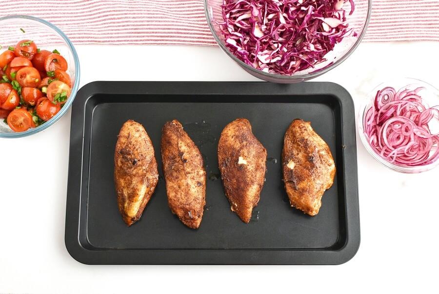 Moroccan Chicken Bowl recipe - step 5