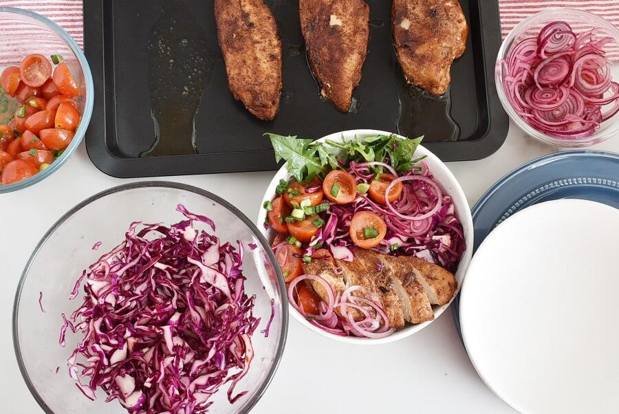 Moroccan Chicken Bowl recipe - step 6