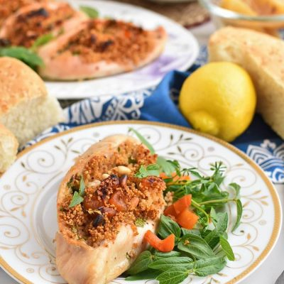 Moroccan stuffed chicken Recipes–Homemade Moroccan stuffed chicken–Easy Moroccan stuffed chicken