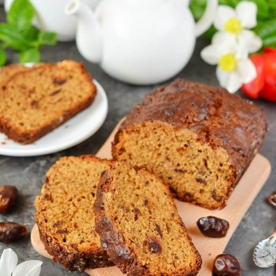 Orange Date Bread Recipe-How To Make Orange Date Bread-Homemade Orange Date Bread