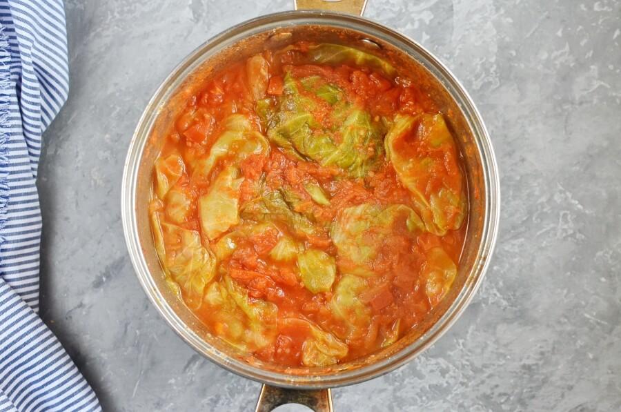 Passover Stuffed Cabbage Rolls recipe - step 7