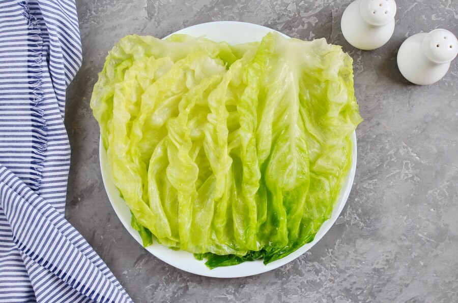 Passover Stuffed Cabbage Rolls recipe - step 1
