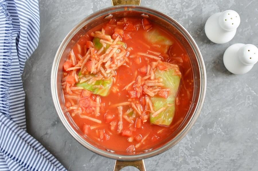 Passover Stuffed Cabbage Rolls recipe - step 6
