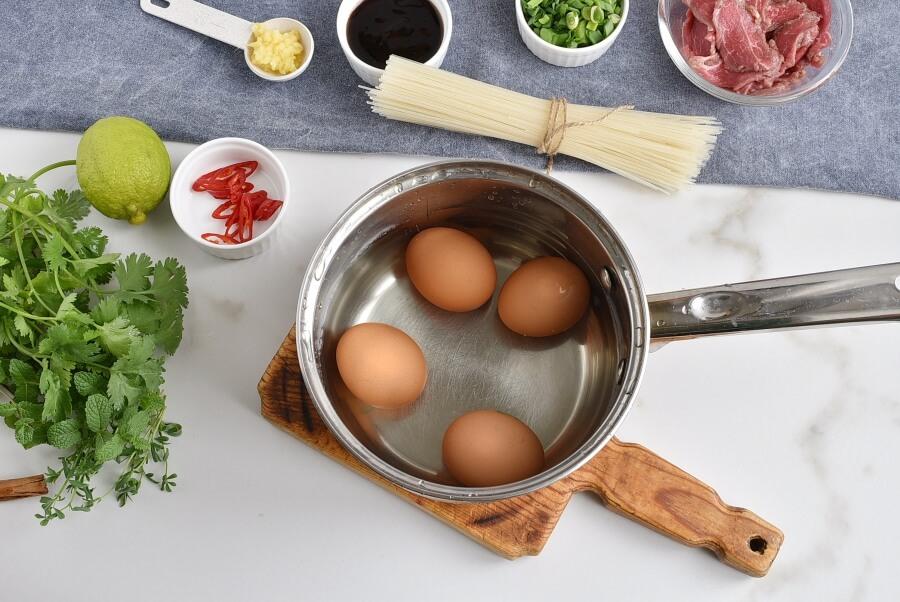 Pho Bo with Microgreens recipe - step 2