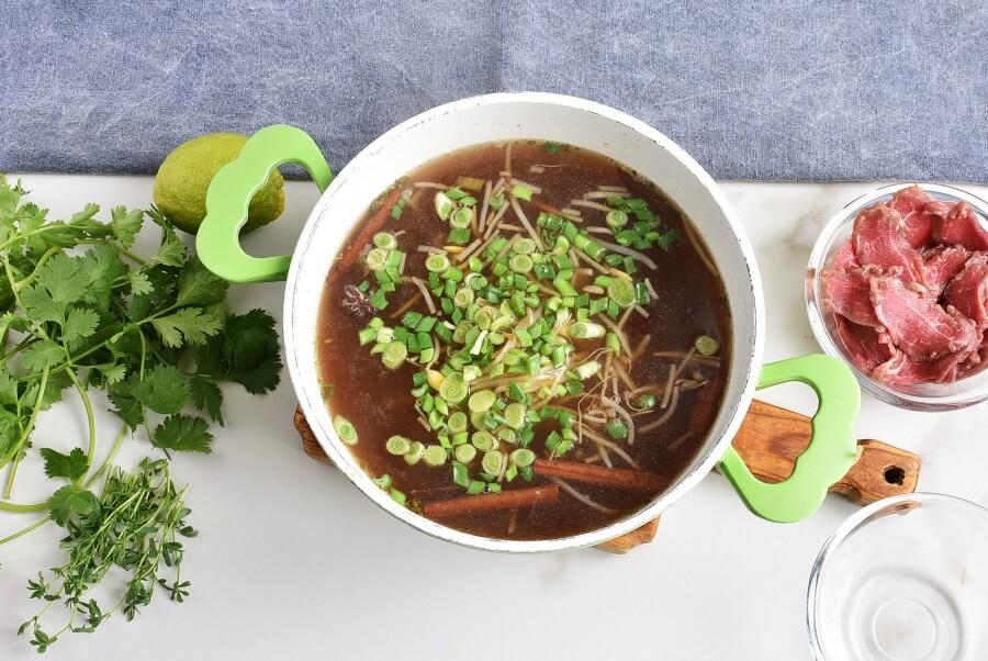 Pho Bo with Microgreens recipe - step 3