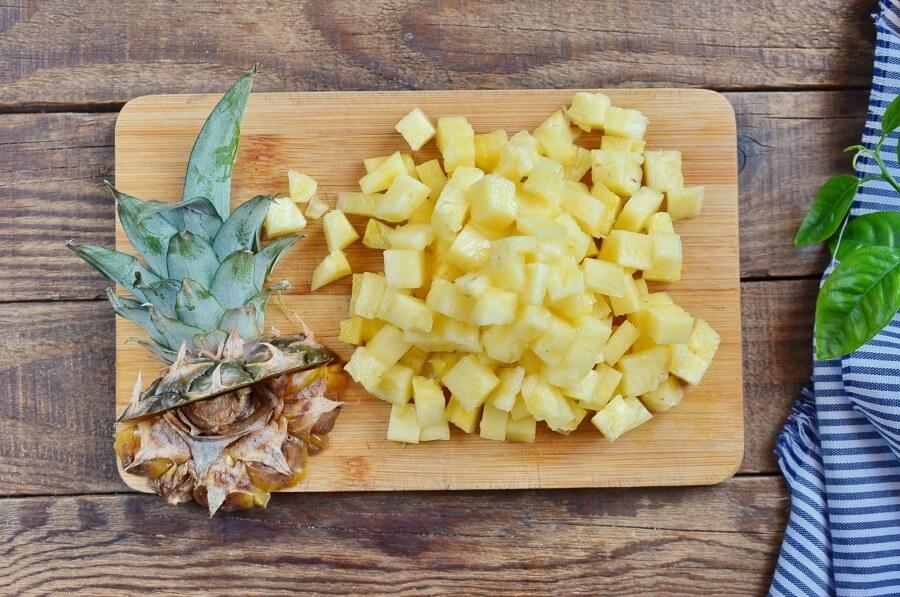 Pineapple & Coconut Cake recipe - step 2