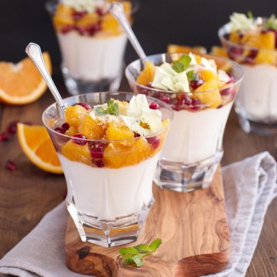 Pomegranate and Orange Fruit Salad Recipe-Citrus and Pomegranate Fruit Salad-Easy Fruit Salad