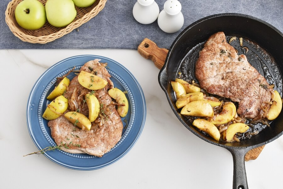 How to serve Pork Tenderloin with Apple-Onion Chutney