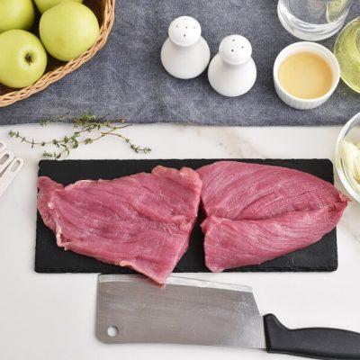 Pork Tenderloin with Apple-Onion Chutney recipe - step 1