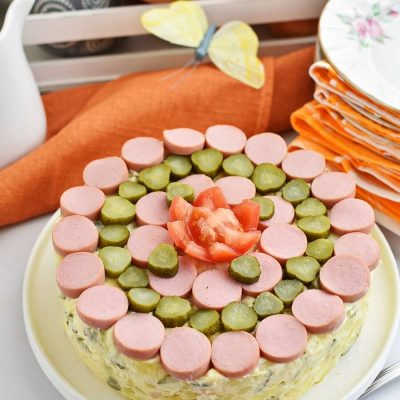 Potato Salad Cake Recipes–Homemade Potato Salad Cake–Easy Potato Salad Cake