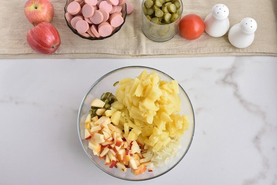 Potato Salad Cake recipe - step 2
