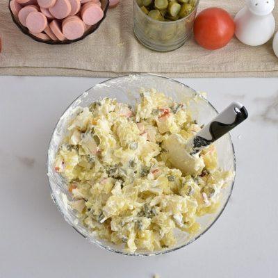 Potato Salad Cake recipe - step 3