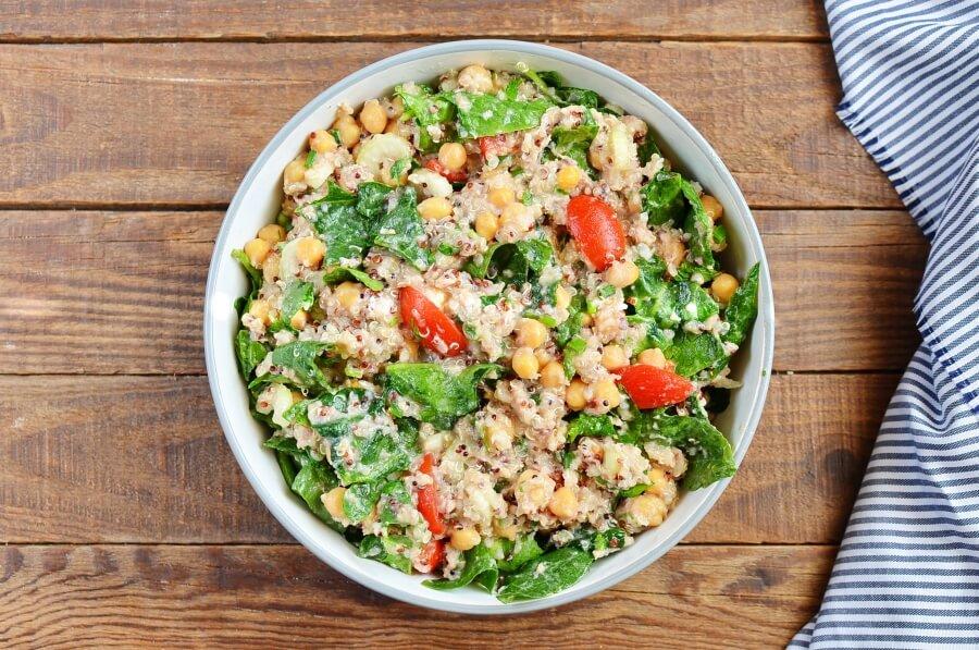 How to serve Quinoa, Tuna, and Chickpea Salad