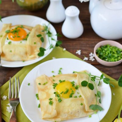 Savory Breakfast Crepe Pockets Recipe-How To Make Savory Breakfast Crepe Pockets-Delicious Savory Breakfast Crepe Pockets