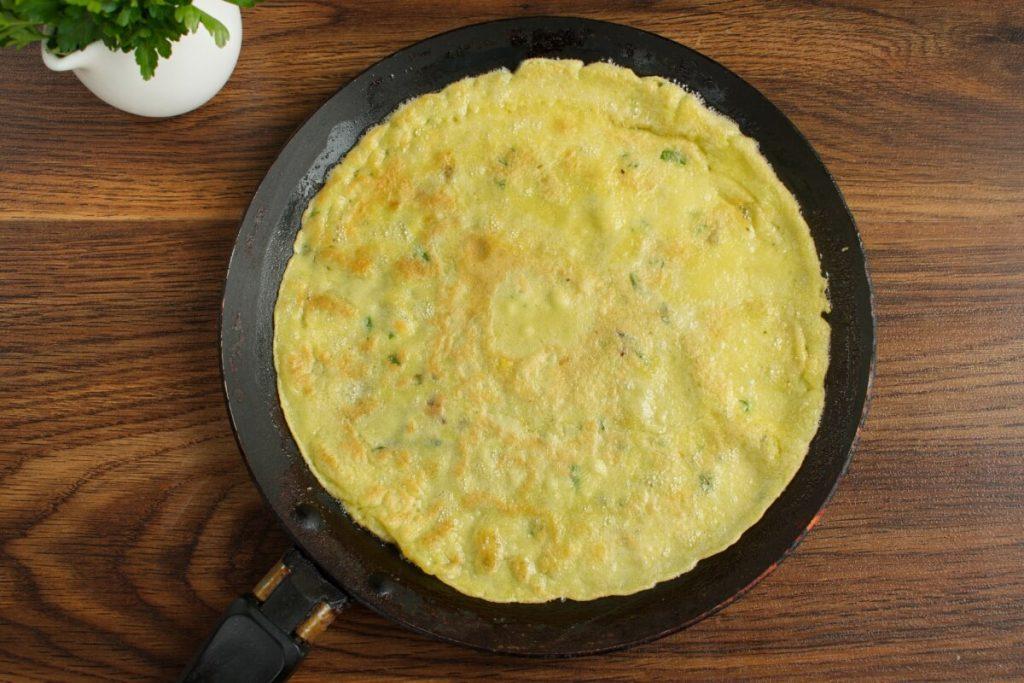 Savory Crepes with Turkey & Mushroom recipe - step 4