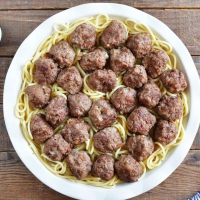 Swedish Meatball Bake with Pasta recipe - step 8