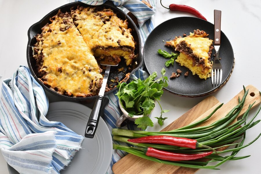 How to serve Tamale Pie