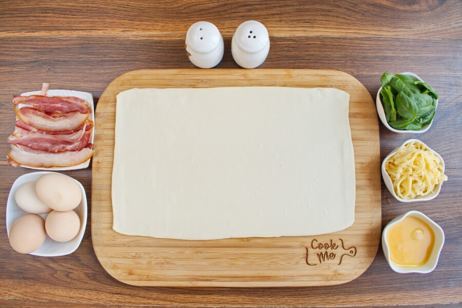 Ingridiens for Toaster Oven Breakfast Tart