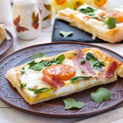 How to serve Toaster Oven Breakfast Tart