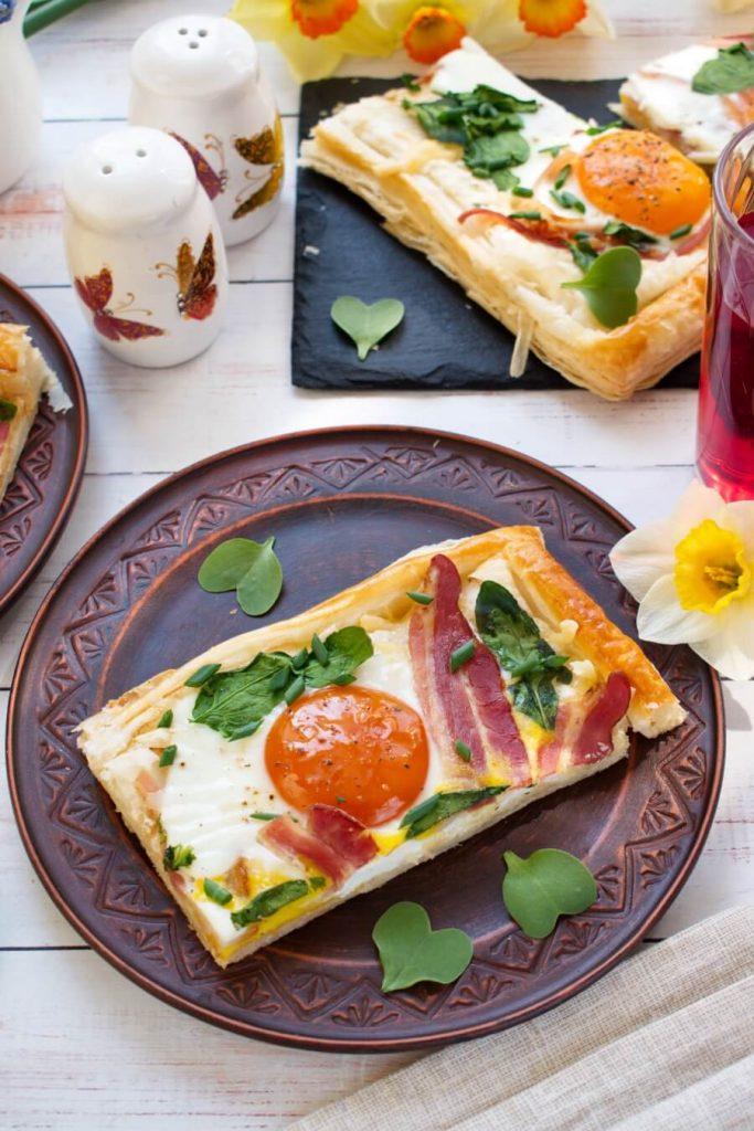 Toaster Oven Breakfast Tart