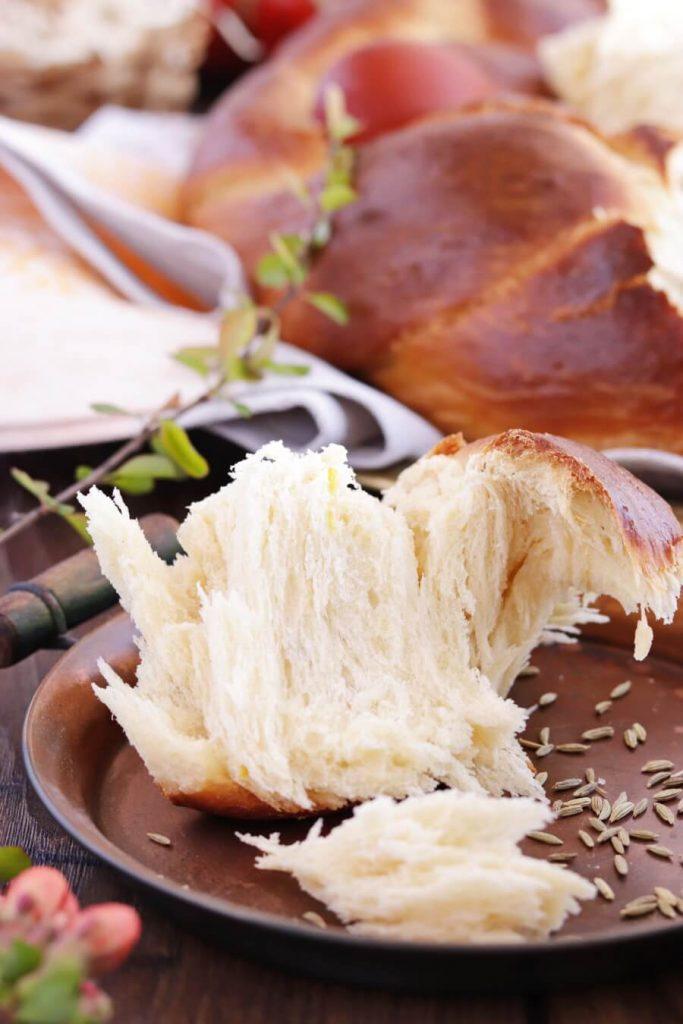 Traditional Greek Easter Bread