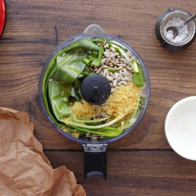 Vegan Wild Garlic Pasta recipe - step 2