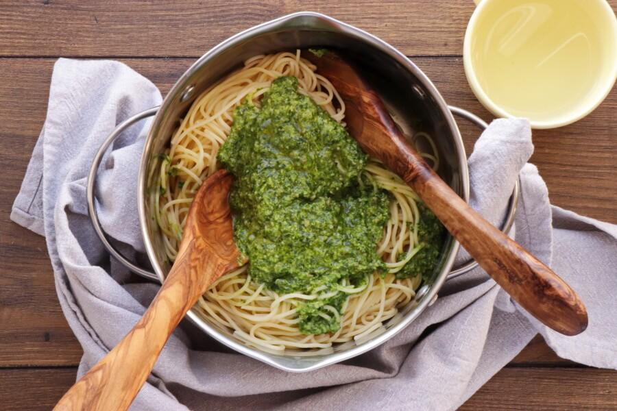 Vegan Wild Garlic Pasta recipe - step 3