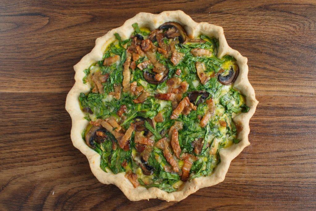 Weeknight Spinach Quiche recipe - step 7