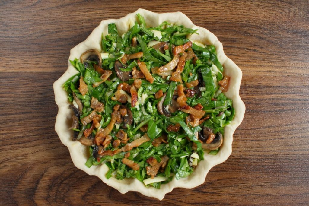 Weeknight Spinach Quiche recipe - step 6