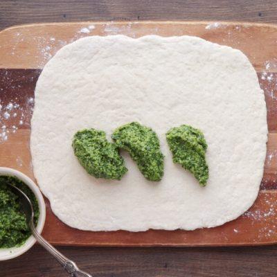Wild Garlic Pesto Pinwheels recipe - step 8