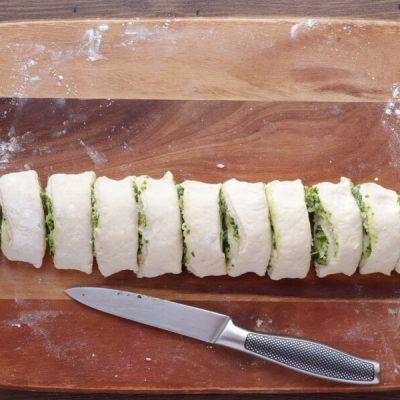Wild Garlic Pesto Pinwheels recipe - step 9