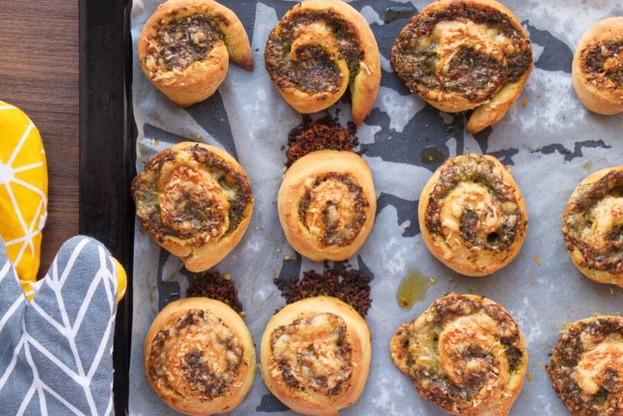 Wild Garlic Pesto Pinwheels recipe - step 11