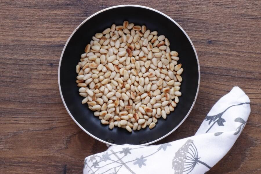 Wild Garlic Pesto Pinwheels recipe - step 1