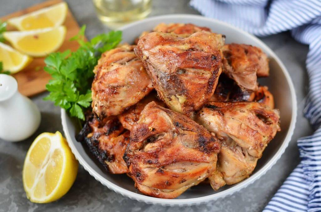 How to serve BBQ Tandoori-style Chicken