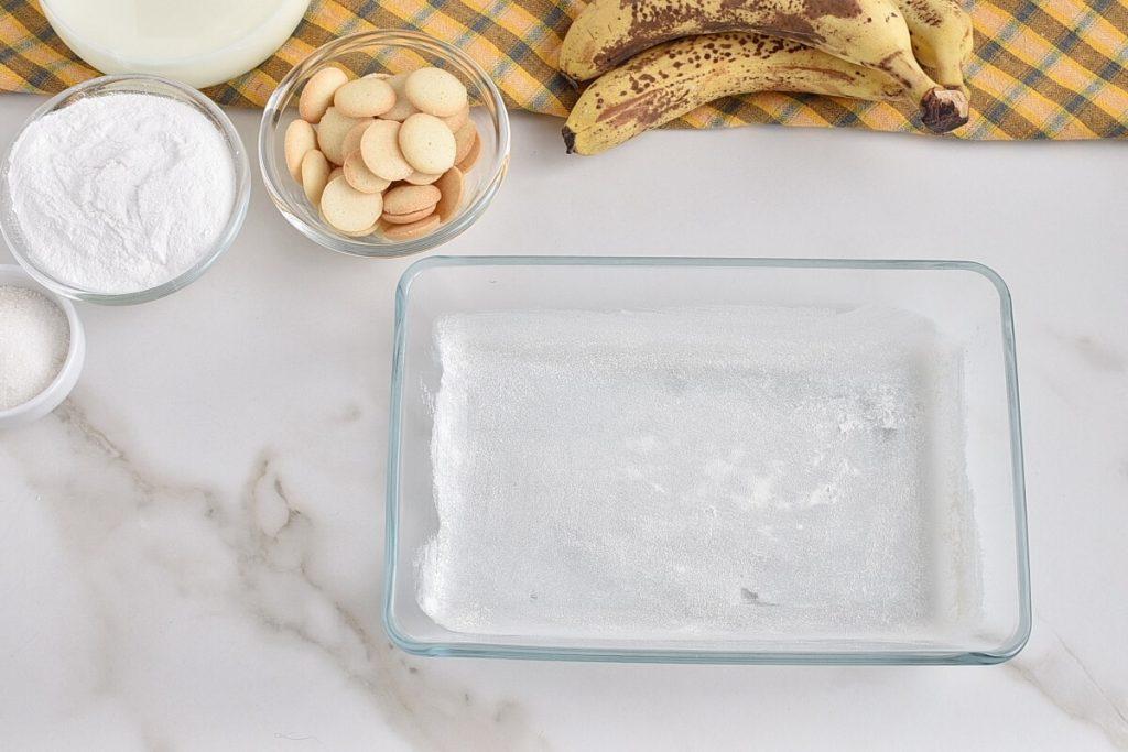 Banana Pudding Poke Cake recipe - step 1